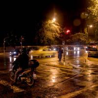 Rainy night by StamatisGR