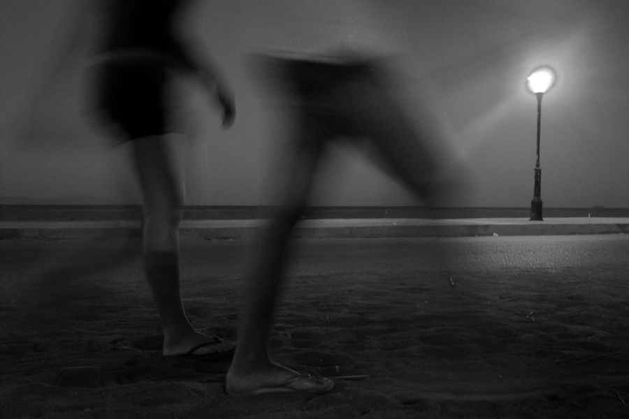 Night stroll by StamatisGR