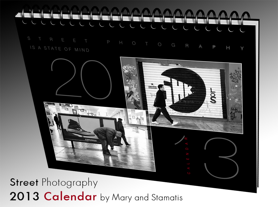 Street Calendar 2013 by StamatisGR