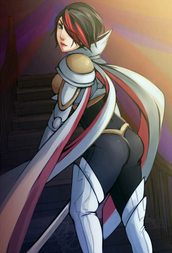 League of Legends: Fiora by 5-ish on DeviantArt