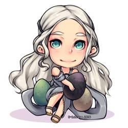 Daenerys Chibi (charm idea) by 5-ish