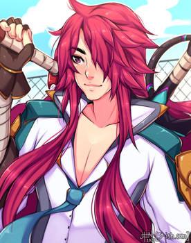 LoL Battle Academia Yone