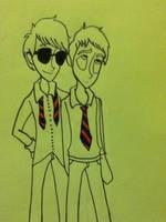 Friends? by RosePiggy