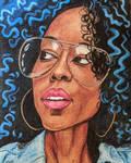 Portrait in color Pencil