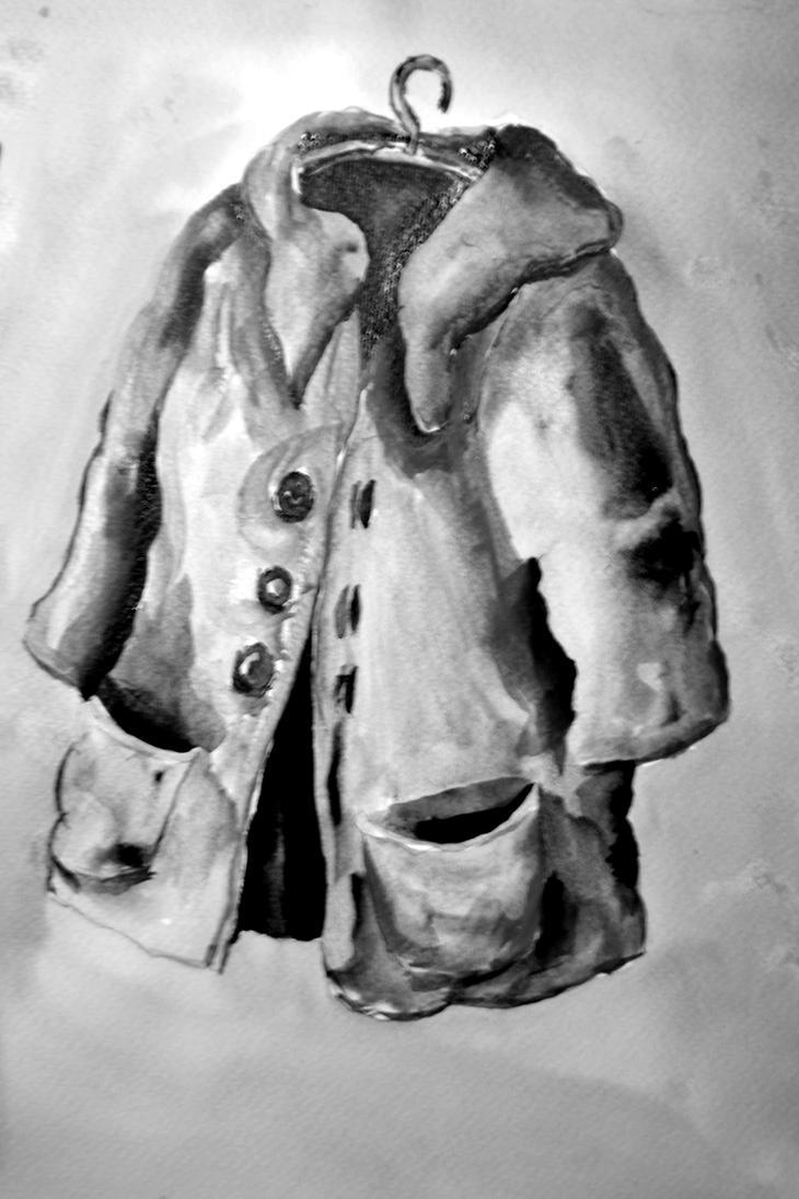 COAT greyscale by docjim10