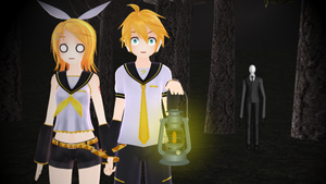 (MMD) I think someone is follow us