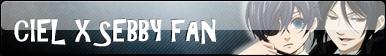 Ciel x Sebby Fan Button