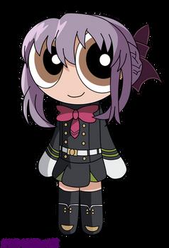 Puffed Shinoa Hiragi