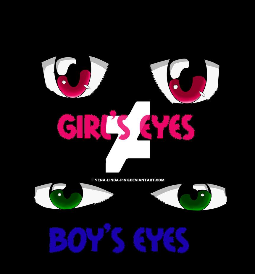 Anime eye pratice by nena linda pink