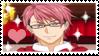 Shokugeki no Souma: Kojiro Shinomiya Stamp by nena-linda-pink