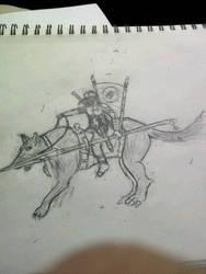 Wolf Rider by Ziphos123