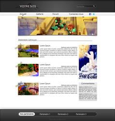 Web Design sobre by MiniMiseur