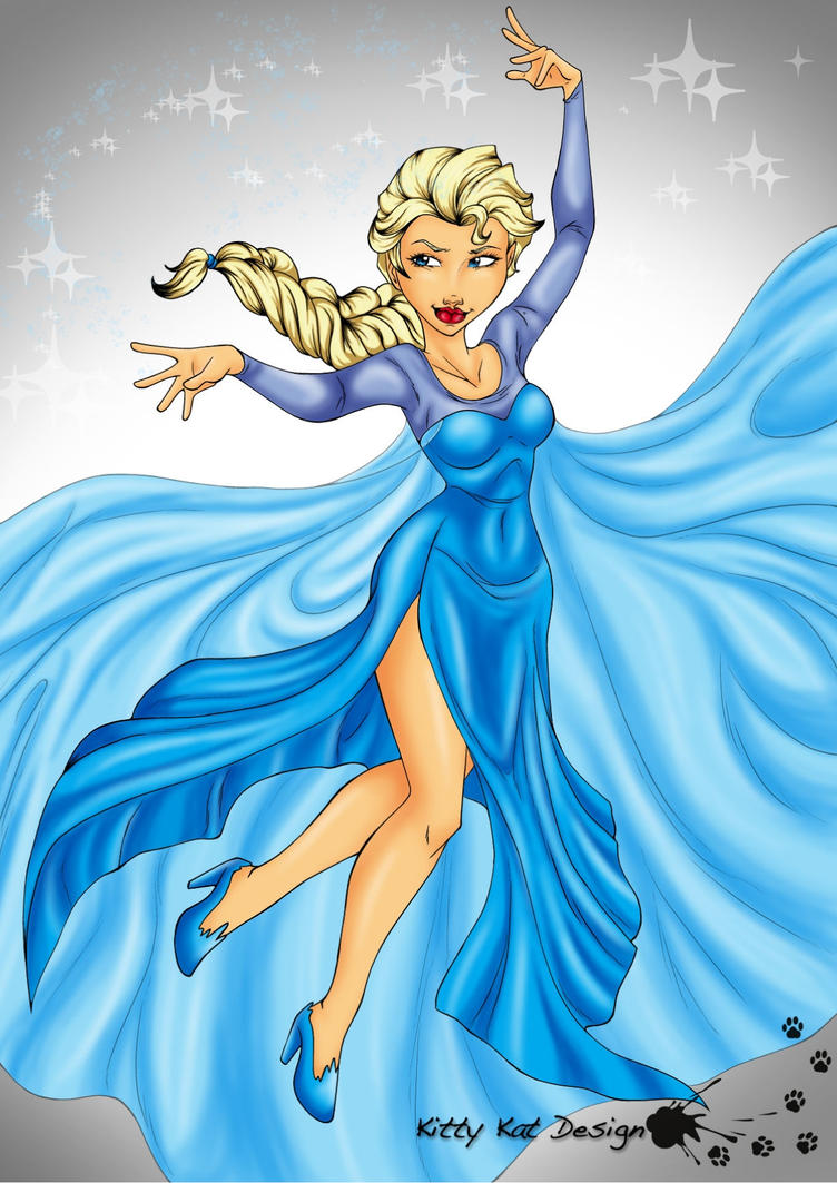 Elsa Snow Queen by Vossy