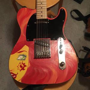 Guitar Sunset Shimmer