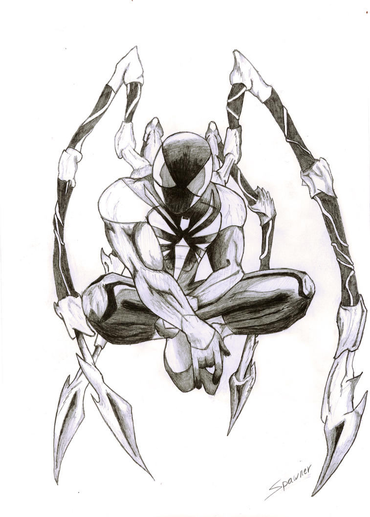 Iron Spider Coloring Pages