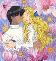 Shion and Mokuren by Yamigirl21