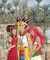Yami, Teana, Bastet Version 2 by Yamigirl21