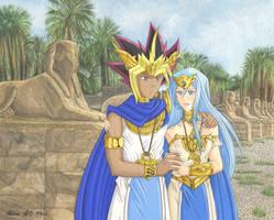 Yami and Neftis by Yamigirl21