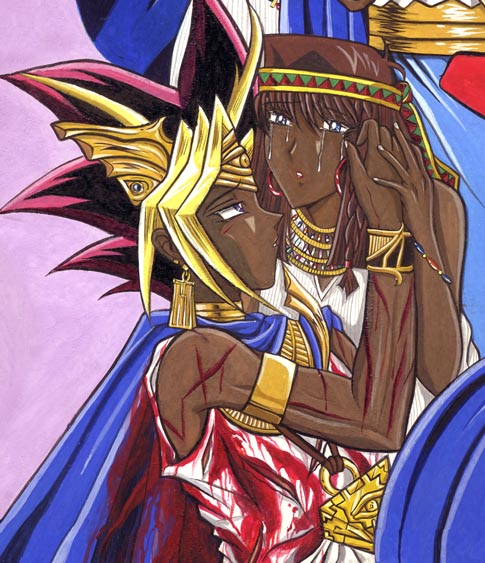 Yu-gi-oh: Yami-Teana Detail 3 By Yamigirl21 On DeviantArt