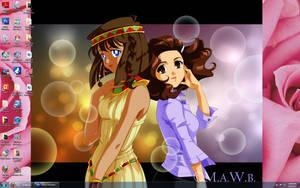 Me and Teana by Drachea