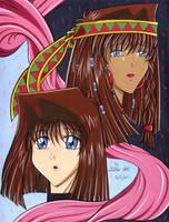 Tea or Anzu and Teana by Yamigirl21
