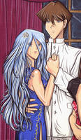 Seto and Kisara detail by Yamigirl21