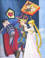 Yu-Gi-Oh and Sailor Moon: The Plan! XD by Yamigirl21