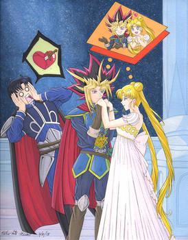 Yu-Gi-Oh and Sailor Moon: The Plan! XD