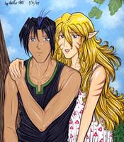 Yasuo and Portia by Yamigirl21