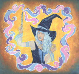 Witch Illustration 2018 by Yamigirl21