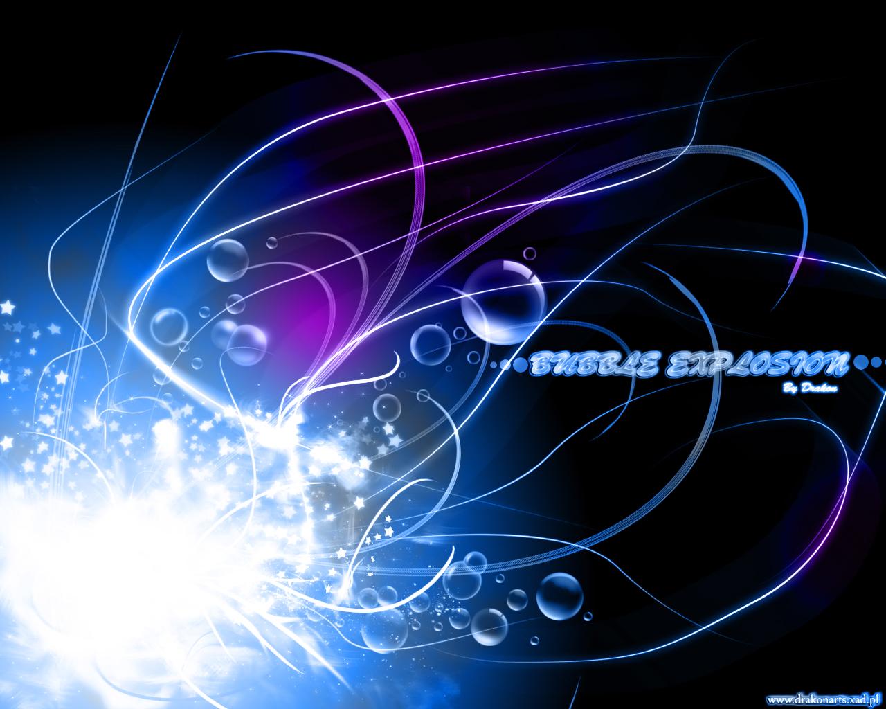 bubble explosion by WojciechDziadosz