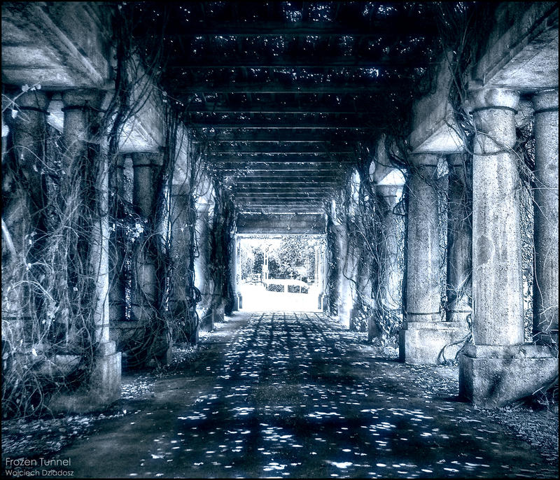 Frozen Tunnel by WojciechDziadosz
