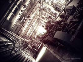 Abyss of the Technology by WojciechDziadosz