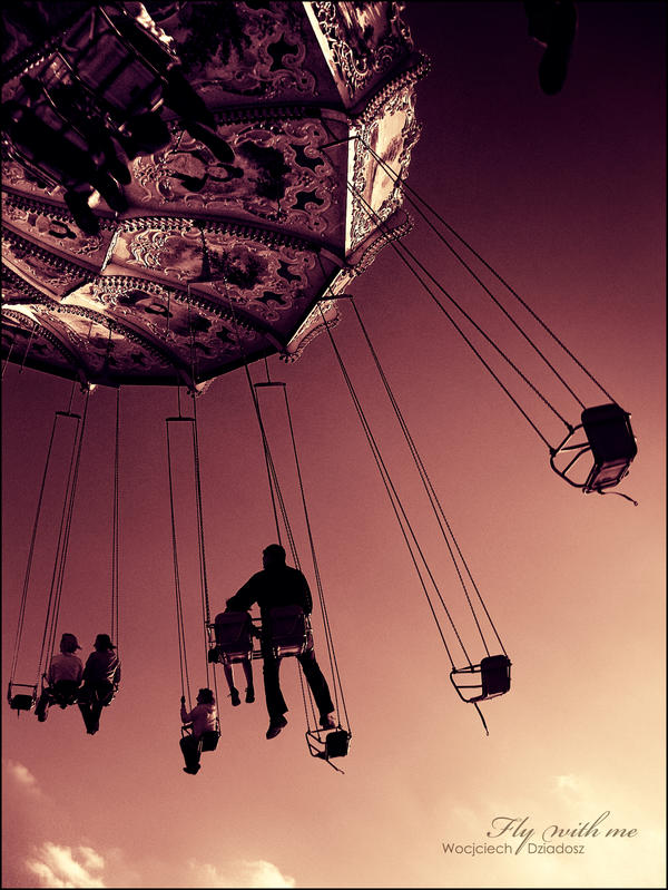 Fly with me by WojciechDziadosz