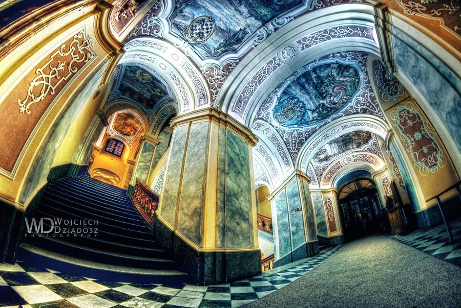 Another world over the head by WojciechDziadosz