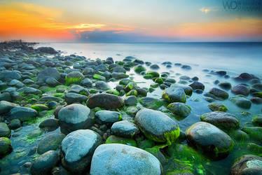 Green Stones by WojciechDziadosz