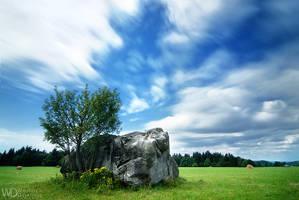 Sleeping stone by WojciechDziadosz
