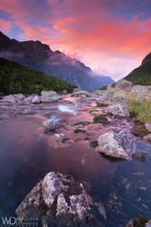 Purple sunset by WojciechDziadosz