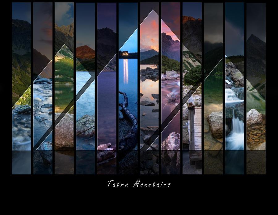 Tatra mountains - Calendar2012 by WojciechDziadosz