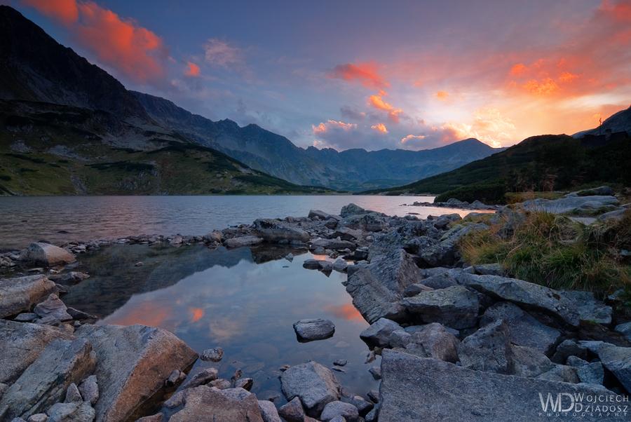 The sun of Tatra Mountains by WojciechDziadosz