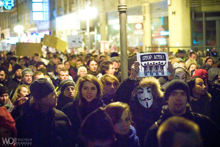 Anti ACTA 12 by WojciechDziadosz
