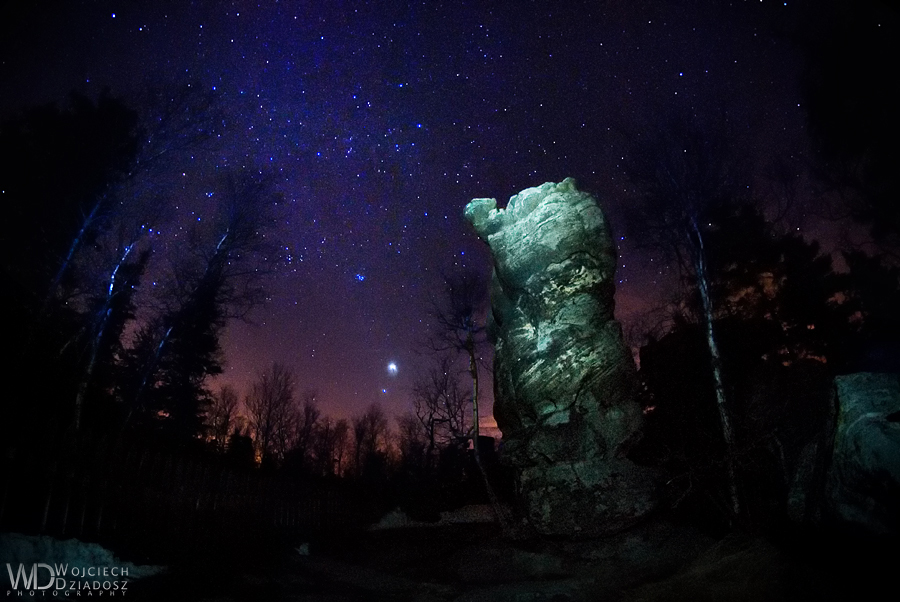 Guardian of the stars by WojciechDziadosz