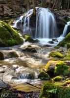 Posny Waterfall by WojciechDziadosz