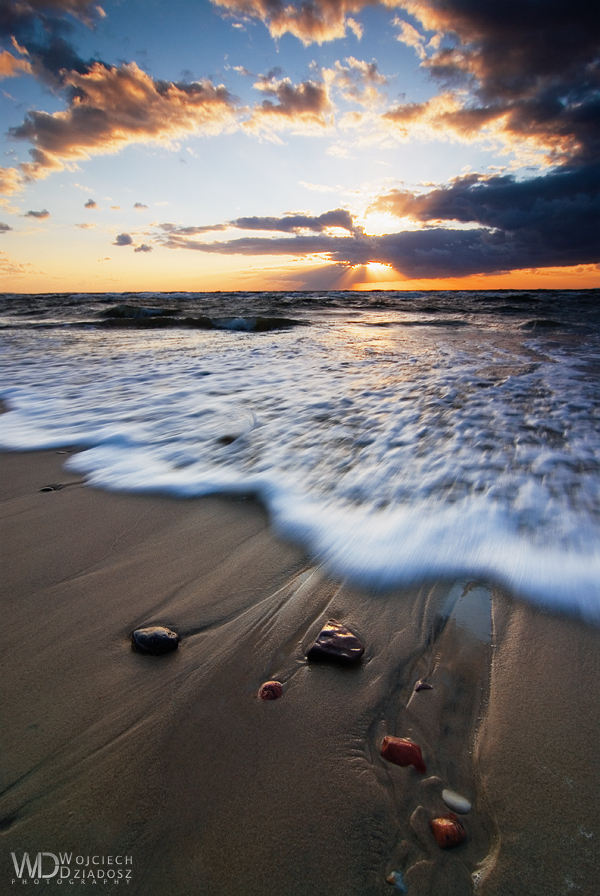 Stones in sand by WojciechDziadosz