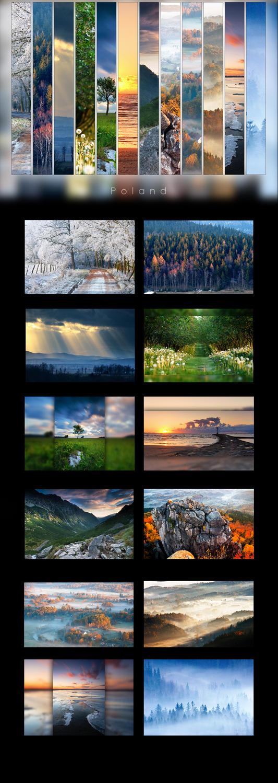 Poland - Calendar 2013 by WojciechDziadosz