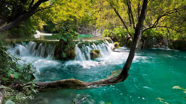 Plitvice waterfalls II