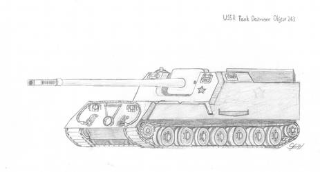 USSR Tank Destroyer Object 263