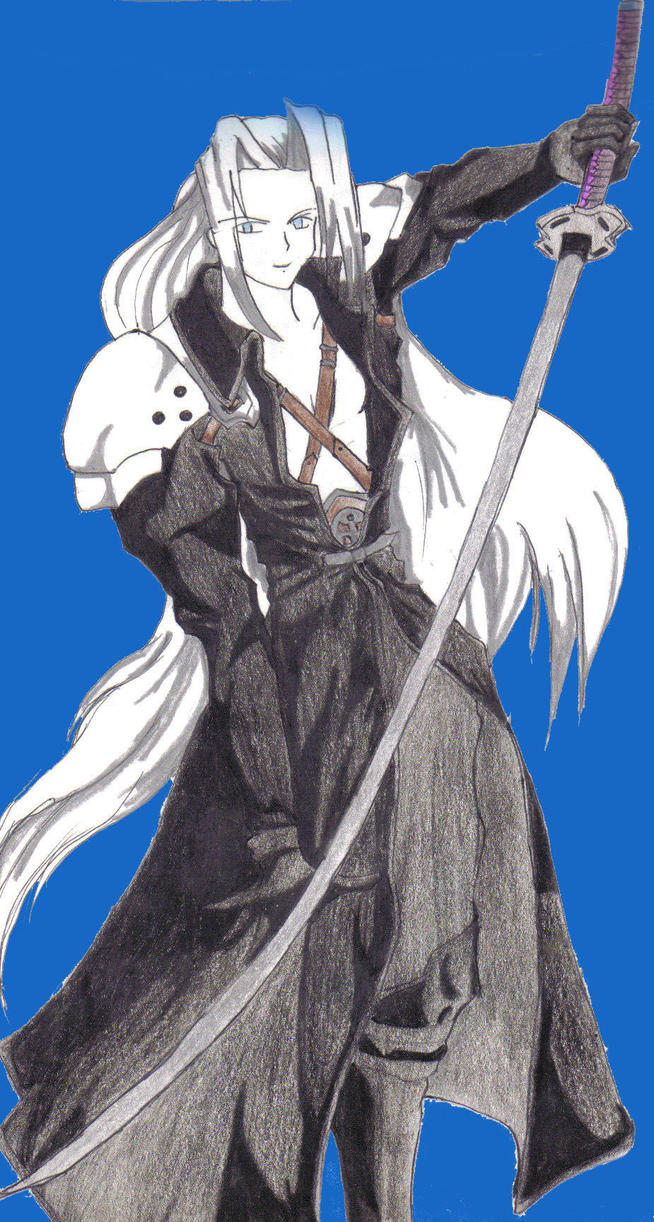 Sephiroth by Ditt-The-SoulEater