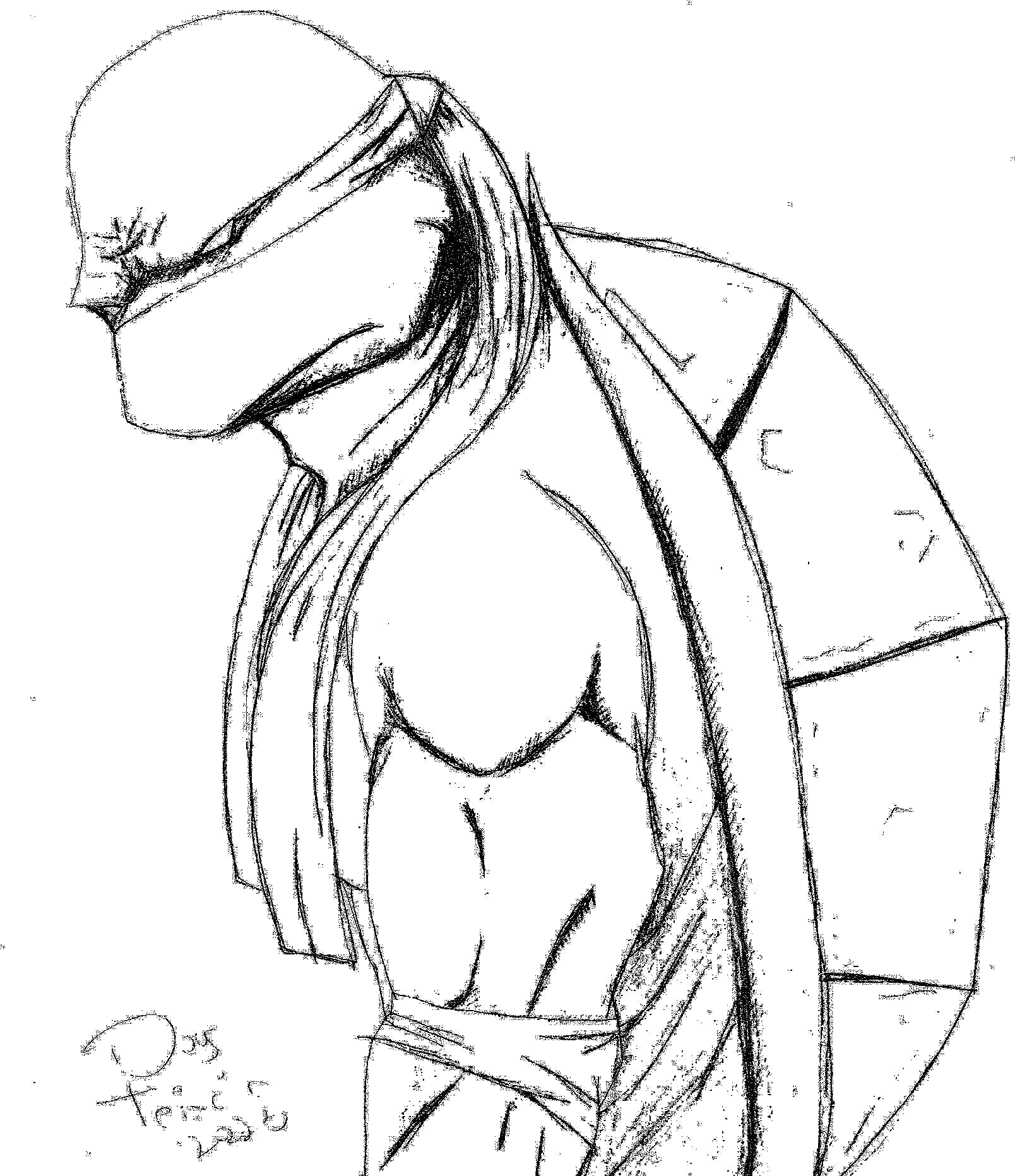 Line Art Ninja Turtles : Ninja turtle by doug on deviantart