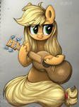 Applejack with guitar (collaboration)